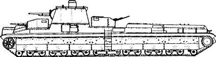 Советский сверхтяжелый танк Т-42.