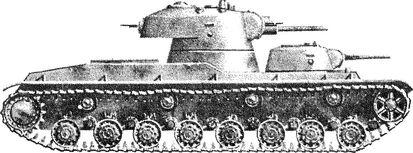 Советский танк «СМК» — последний из многобашенных машин.