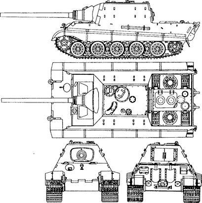 Немецкая самоходная установка «Ягдтигр» — самая тяжелая серийная бронированная машина Второй мировой войны.