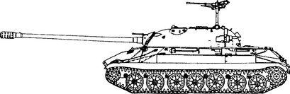 Советский супертанк ИС-7.