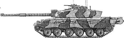 Английский танк «Челенджер» — самый тяжелый современный танк.
