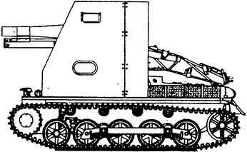 Немецкая САУ Т-I Aust.B.