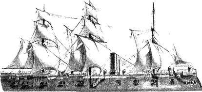 Австрийский броненосец «Фердинанд Макс».