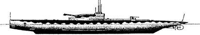 Английский подводный монитор М-1.