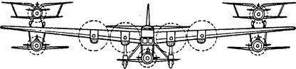 Самолет-звено Вахмистрова.