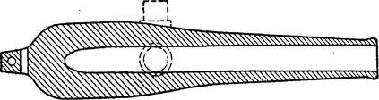 Орудие системы Дальгрена, калибр 280 мм.