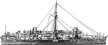 Итальянский броненосец «Дуилио».
