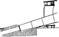 Схема заряжания 450-мм орудия броненосца «Дуилио».