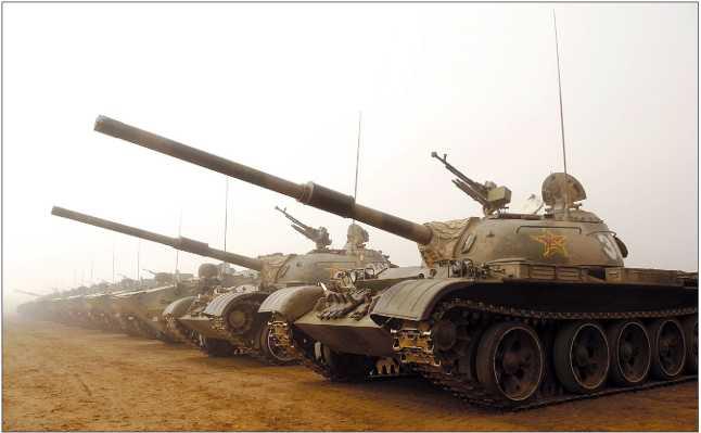 Модификации танка Туре 59 (WZ-120)