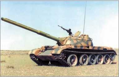 Танк Type 59 Gai со 120-мм орудием.