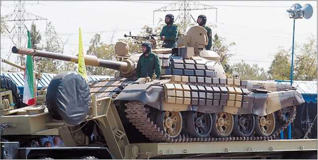 Иранский танк Safir-74.