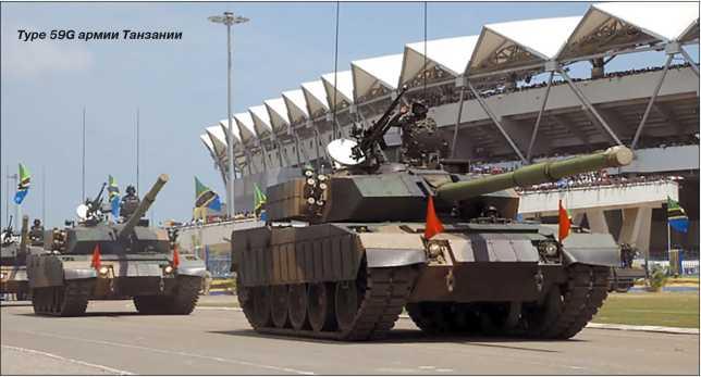 Type 59G армии Танзании.