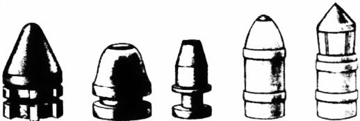 1.8.8. Пули для оружия со стволами сверловки «парадокс»