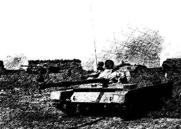 Самоходные орудия десанта приземлились и готовы вступить в бой