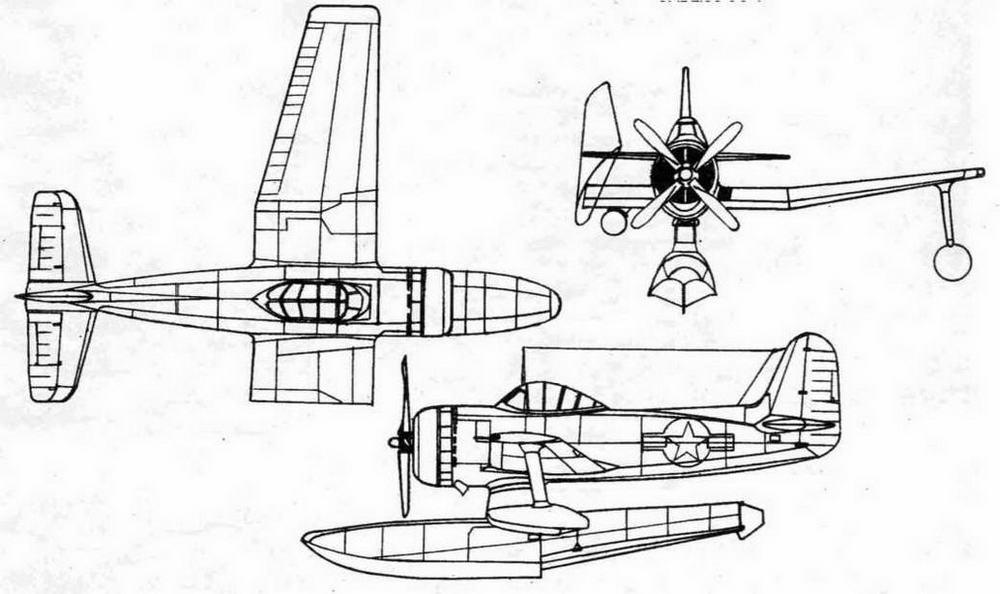Палубный гидросамолет CURTIS-1.