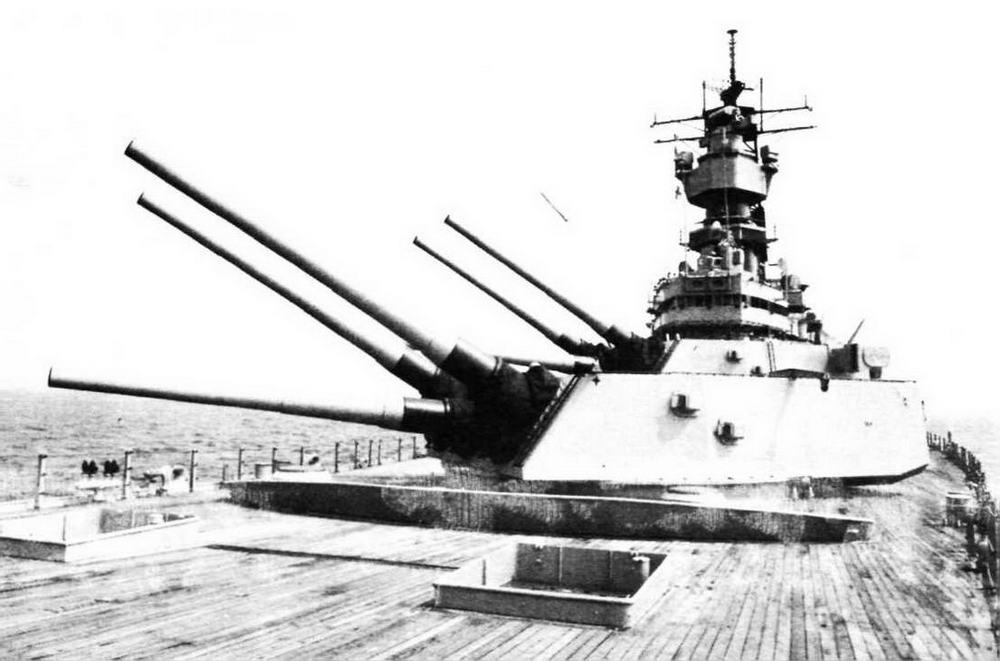 Пуск крылатой ракеты BGM-109 «Томагавк» с линкора «Айова», 2 августа 1986 г.