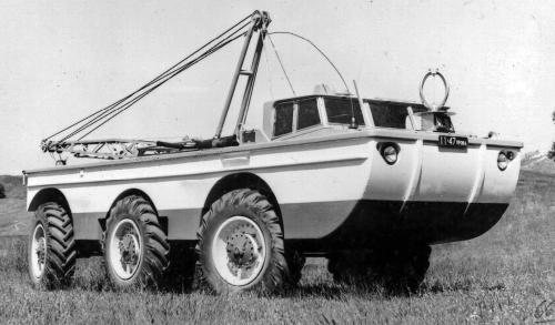Поисково-эвакуационные машины ПЭУ (1966 – 1981 гг.)