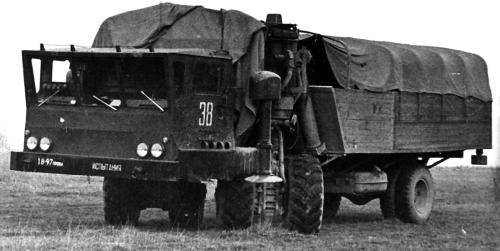 ЗИЛ-135МШ (1967 – 1968 гг.)