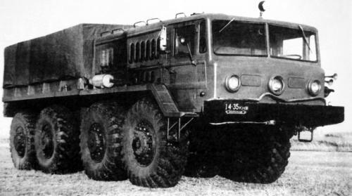 МАЗ-535 (1956 – 1961/1964 гг.)