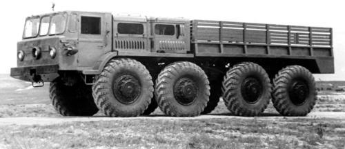 МАЗ-536 (1957 – 1958 гг.)