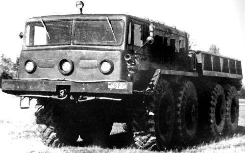 Варианты и применение автомобилей МАЗ-537
