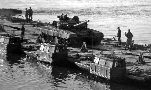 Паромная амфибия ПММ «Волна» (1974 – 1985 гг.)