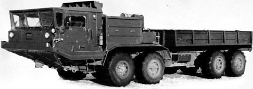 Сухопутные шасси серии БАЗ-6950 (1976 – 1999 гг.)