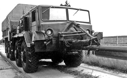 Варианты исполнения МАЗ-537