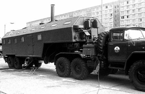 Военное применение автопоездов ЗИЛ-137