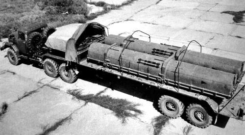 Военное применение автопоездов 6009 и 60091