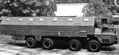 Машины обеспечения ракетных комплексов