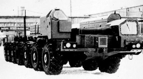 МАЗ-7912 (1977 – 1985 гг.)