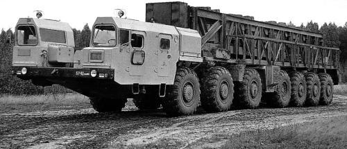МАЗ-7917 (1984 – 1992 гг.)