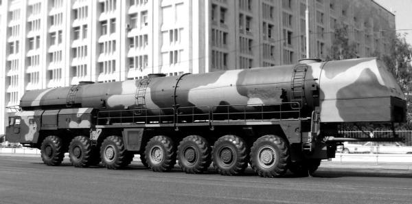 Ракетный комплекс «Тополь» (1984 – 1992 гг.)