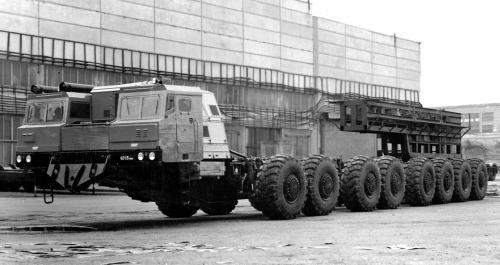 МАЗ-7906 (1984 – 1987 гг.)