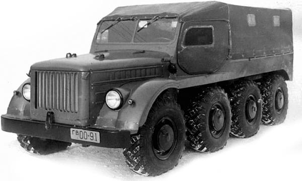 ГАЗ-62Б/66П (1956 – 1957 гг.)