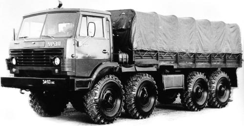 Семейство «Суша» (Урал-4322/5323) (1978 – 1993 гг.)