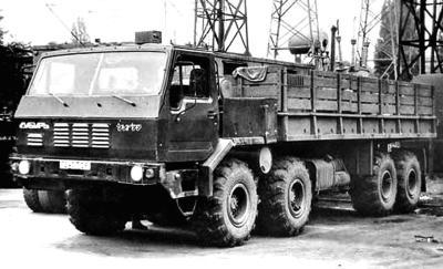 Семейство «Открытие» (КрАЗ-6315/6316) (1982 – 1991 гг.)