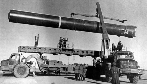 Установщики баллистических ракет