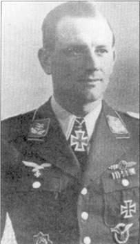 Беннемана на посту командира I./JG- 52 сменил гауптман Йохиннес Вейсе. Рыцарский крест Вейсе получил 5 января 1943г. за 51 сбитый самолет.