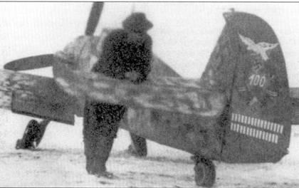 Победный счет Вайссенбергера на Востоке составил 131 сбитый самолет. На снимке — Bf. 109G-2 Вейссенбергера.