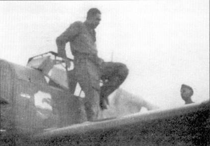 Стаффелькапитан 4./JG-77 гауптман Генрих Зитц был удостоен дубовых листьев к Рыцарскому кресту после того, как 24 июля 1942г. сбил Як-1 и довел число побед до сотни.