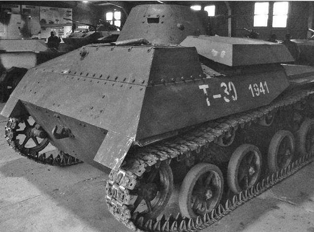Легкий танк Т-40С в деталях