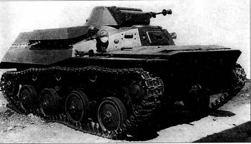 Легкий <a href='https://arsenal-info.ru/b/book/3386931219/2' target='_self'>плавающий танк</a> Т-40. Представлен образец, проходящий испытания на полигоне. 1940-1941 годы.