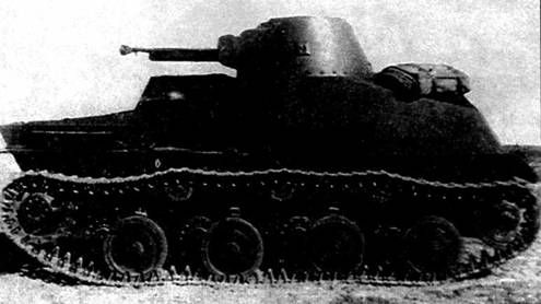 Фотографии легкого опытного танка 010 (образец Ns 7/4 с торсионной подвеской) во время испытаний. НИБТ полигон, июль 1939 года.