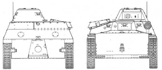 Чертежи легкого неплавающего танка Т-40С выпуска 1941 года. Представлен радиофицированный (радийный) вариант с 12,7-мм пулеметом ДШК в качестве основного вооружения.