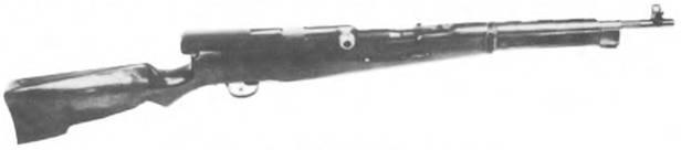 6.5-мм самозарядный карабин Федорова. Опытный образец 1912/22г.