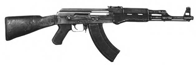 7,62-мм автомат Калашникова АК со штампованной ствольной коробкой. Выпуск 1949–1950гг.