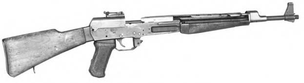 7,62-мм автомат Мощевитина. Опытный образец 1953г.