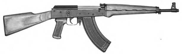 7,62-мм автоматический карабин (автомат) Калашникова. Опытный образец №1 1952г.